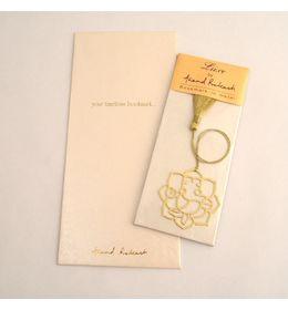 Anand Prakash Ganesha Floral Bookmark