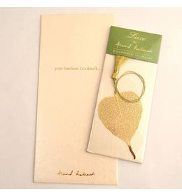 Anand Prakash Pipal Leaf Bookmark