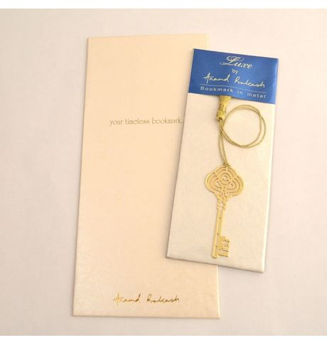 Anand Prakash Intricate Key Bookmark