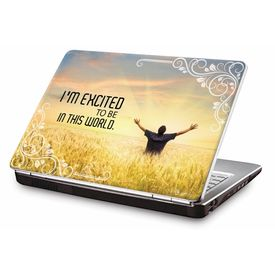 Clublaptop LSK CL 109: I am Excited Laptop Skin