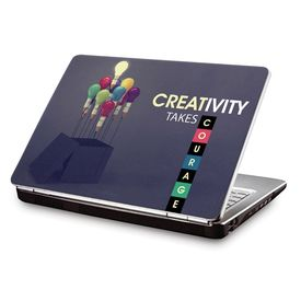 Clublaptop LSK CL 93: Creativity Takes Courage Laptop Skin