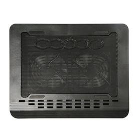 Clublaptop CLCP367 Cooling Pad (Black) - Dual Fans & Led Light