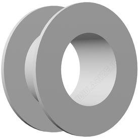 Titanium Collar Button Grommet, medium  1.4mm