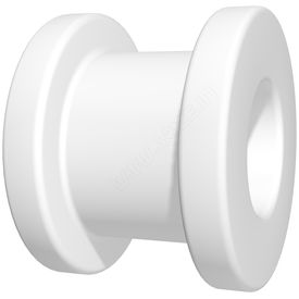 PTFE/Teflon Collar Button Grommet ( Box of 10), large 1.27mm id