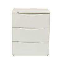 Nilkamal Chester Storage Drawer Series-43,  ivory