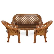 Nilkamal Luxura Sofa Set, Brown