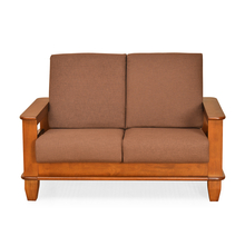 Elena 2 Seater Sofa - @home Nilkamal,  wenge