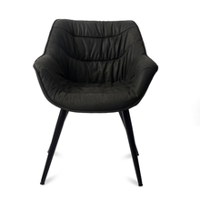 Versace Arm Chair - @home by Nilkamal, Charcoal
