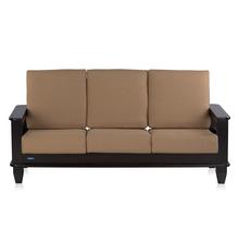 Nilkamal Manhattan 3 Seater Sofa - Cappuccino
