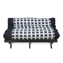 DOUBLE FUTON, DARK BLACK