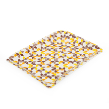 Urban Sunshine Medium Stylo Trays - @home by Nilkamal, Yellow Brown