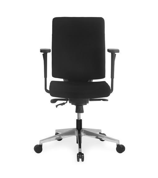 Nilkamal Charles Mid Back Office Chair,  black