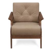 Gia 1 Seater Sofa - @home by Nilkamal, Wenge