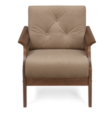 Gia 1 Seater Sofa - @home by Nilkamal, Wenge