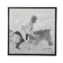 Homely Horse Jockey Picture Frame - @home by Nilkamal, Indigo