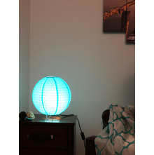 Ball Table Lamp, Sea Green