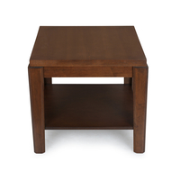 Zinnia Coffee Table - @home by Nilkamal, Walnut