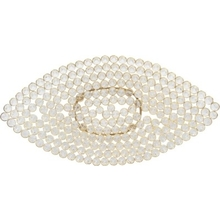 Crystal Boat Decorative Platter - @home By Nilkamal