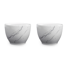 Marble Collection Salt and Pepper Set of 2 - @home by Nilkamal, White