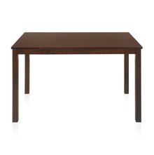 Gem 4 Seater Dining Table, Cappucino