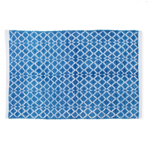 Diamond 60 cm x 90 cm Rug - @home by Nilkamal, Indigo