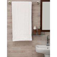Zerotwist 80 cm x 160 cm Shower Towel, White