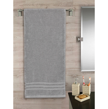 Zerotwist 60 cm x 120 cm Bath Sheet, Grey