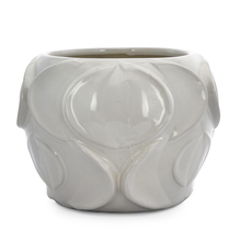 Homely Ink Stout Vase - @home by Nilkamal, Indigo & White