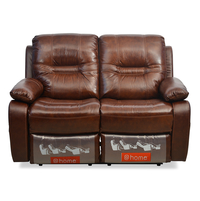 Wilson 2 Seater Sofa With Manual Recliner - @home By Nilkamal, Carmel