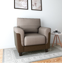 Saviour 1 Seater Sofa, Mocha Brown