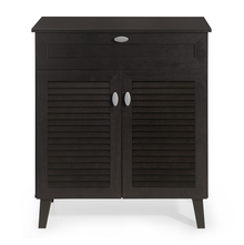 Jess Medium Shoe Cabinet - @home by Nilkamal, Cappucino