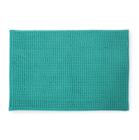 Shaggy 40 cm x 60 cm Bathmat - @home by Nilkamal, Sea Green