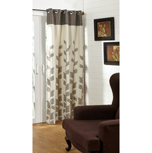 44'x96' Victoria Single Door Curtain - @home Nilkamal,  brown