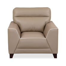 Hayley 1 Seater Sofa, Mocha Brown