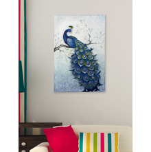 Peacock Wall Decor - @home by Nilkamal, Indigo