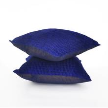 Harmony 40 x 40 cm Set of 2 Cushion Cover - @home by Nilkamal, Indigo