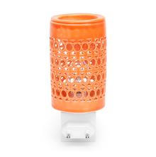 Circle Electrical Plugin Diffuser 5cmX5cmX8cm - @home by Nilkamal, Orange