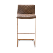 Earl Bar Stool - @home by Nilkamal, Durban Brown