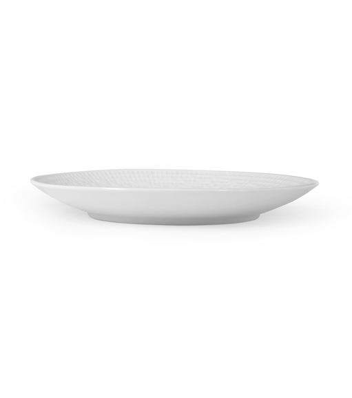 Mosaic Collection Quarter Plate - @home by Nilkamal, White