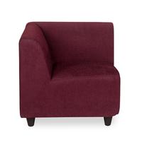 Bolt Corner Sofa - @home by Nilkamal, Maroon