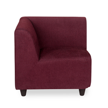 Bolt Corner Sofa - @home by Nilkamal, Maroon