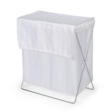 Fab Square 44 cm x 23 cm x 50 cm Laundry Bag - @home by Nilkamal, White