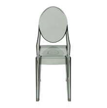Letty Chair - @home by Nilkamal, Grey Clear