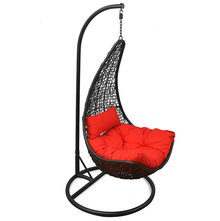 Mirto Swing - @home Nilkamal, black and red
