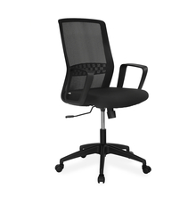 Nilkamal Everest Mid Back Office Chair, Black