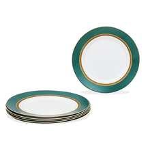 Laopala Sovrana Empress Full Plate Set of 6, Green