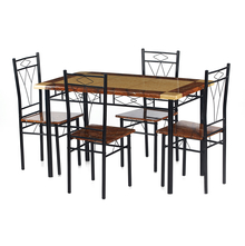 Nilkamal Stratus 1+ 4 Dining Set - Black