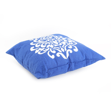 Baroque 40 x 40 cm Filled Cushion - @home by Nilkamal, Indigo