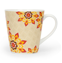 Zing Sunflower Small 250 ml Coffee Mug - @home by Nilkamal, Red