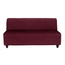 Bolt 3 Seater Sofa without Arm - @home by Nilkamal, Maroon